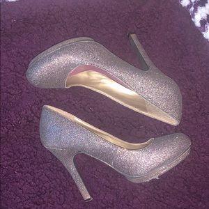Madden Girl sparkly heels size 7.5